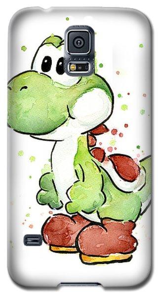 Yoshi Watercolor Galaxy S5 Case by Olga Shvartsur