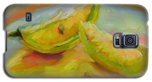 Galaxy S5 Case featuring the painting You Are My Sunshine by Chris Brandley