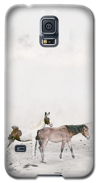 Galaxy S5 Case featuring the painting You Are Not Alone by Bri B