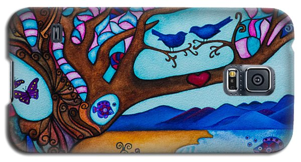 Love Is All Around Us Galaxy S5 Case by Lori Miller