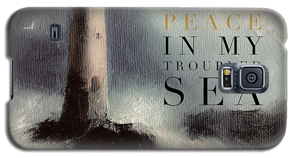 You Are The Peace In My Troubled Sea Lighthouse Galaxy S5 Case