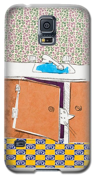 You Looking For Me Galaxy S5 Case by Leela Payne