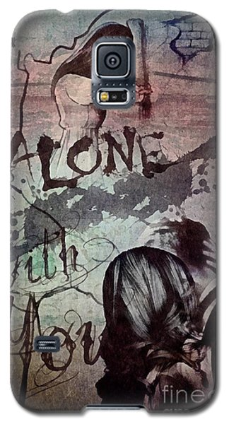 Galaxy S5 Case featuring the mixed media You by Mo T