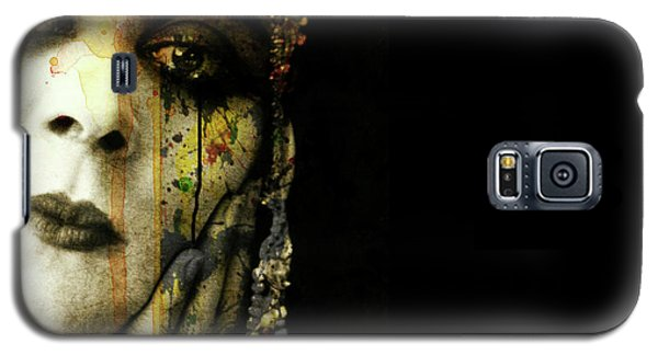 Galaxy S5 Case featuring the mixed media You Never Got To Hear Those Violins by Paul Lovering