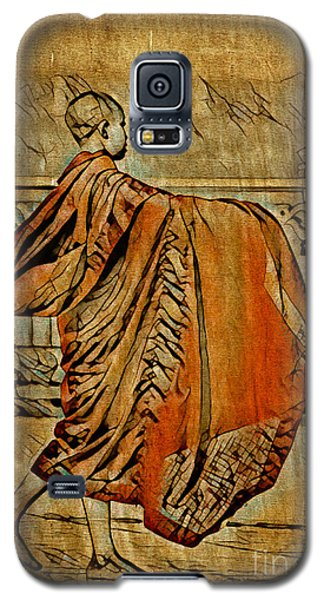 Young Buddhist Monk Galaxy S5 Case