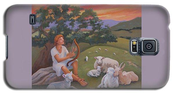 Young David As A Shepherd Galaxy S5 Case