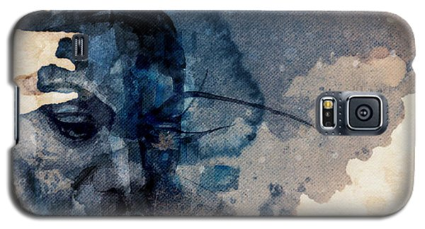 Galaxy S5 Case featuring the mixed media Young Gifted And Black - Nina Simone  by Paul Lovering