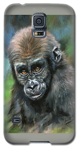 Young Gorilla Galaxy S5 Case by David Stribbling