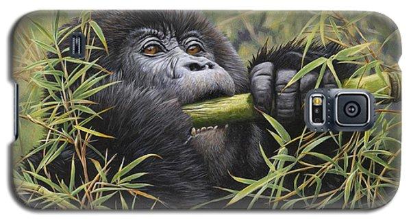 Young Mountain Gorilla Galaxy S5 Case