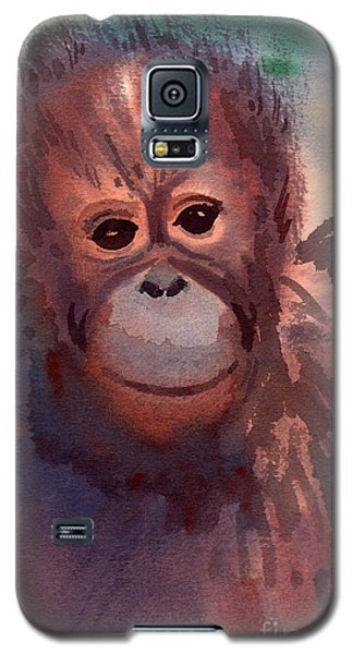 Young Orangutan Galaxy S5 Case