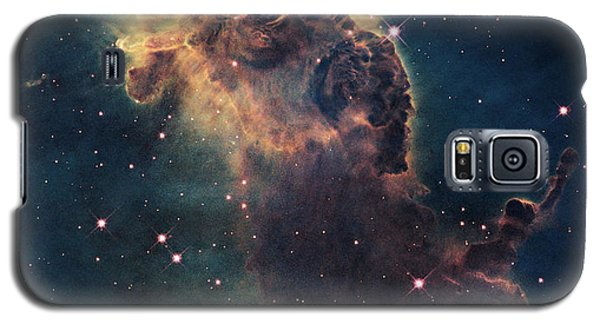 Young Stars Flare In The Carina Nebula Galaxy S5 Case