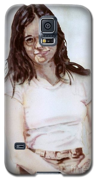 Young Woman Galaxy S5 Case by Ron Bissett