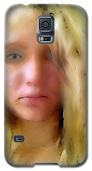Young Woman Galaxy S5 Case by Walter Chamberlain