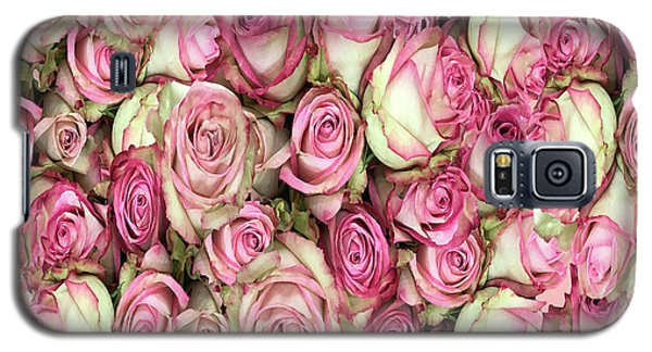 Galaxy S5 Case featuring the photograph Your Pink Roses by Rockin Docks Deluxephotos