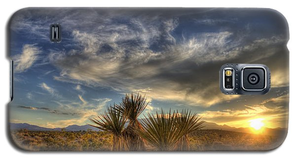 Yucca Sunset Galaxy S5 Case