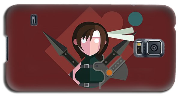 Galaxy S5 Case featuring the digital art Yuffie by Michael Myers