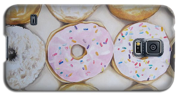 Yummy Donuts Galaxy S5 Case by Jindra Noewi