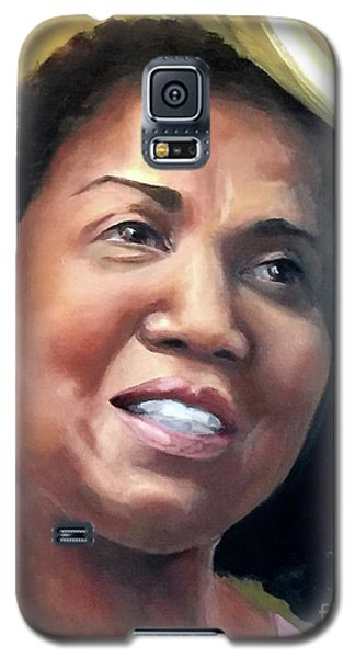 Galaxy S5 Case featuring the painting Yvonne by Diane Daigle
