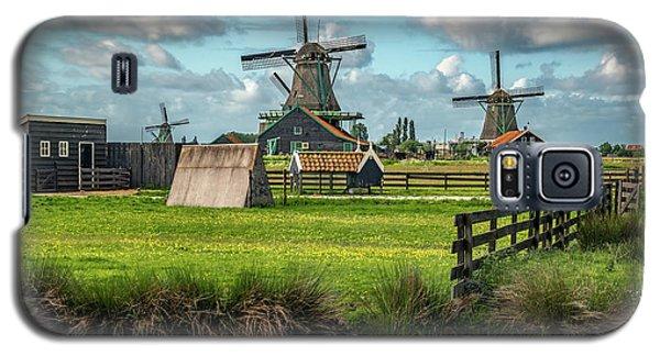 Zaanse Schans And Farm Galaxy S5 Case