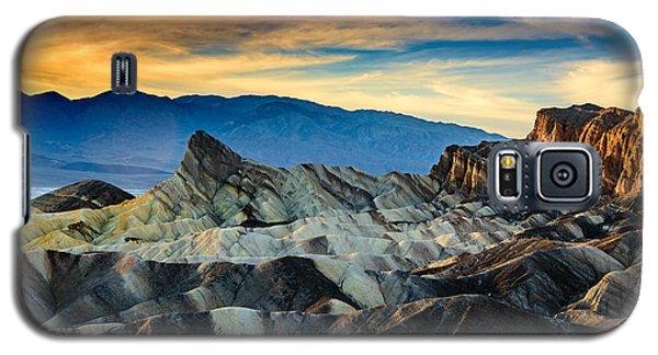 Zabriskie Point At Sundown Galaxy S5 Case by Janis Knight