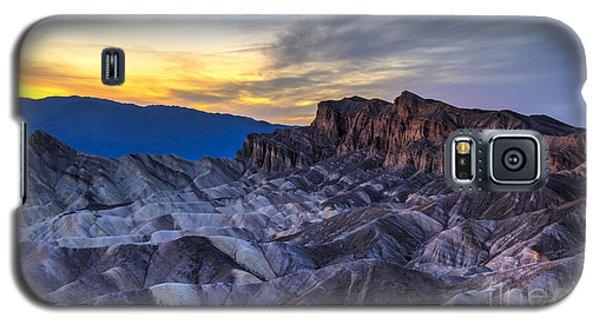 Galaxy S5 Case - Zabriskie Point Sunset by Charles Dobbs