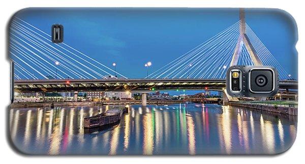 Zakim Bridge And Charles River At Dawn Galaxy S5 Case