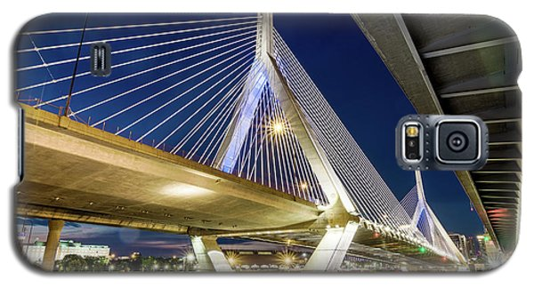Zakim Bridge From Bridge Under Another Bridge Galaxy S5 Case