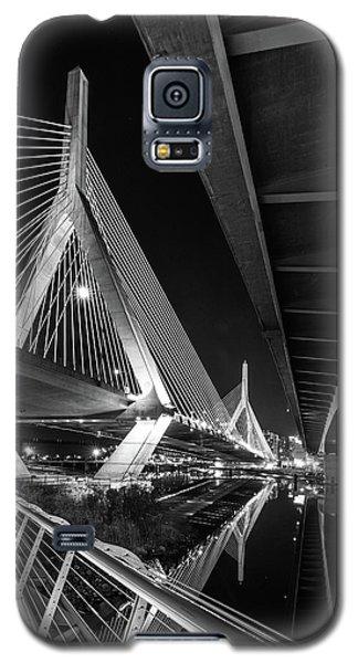 Zakim Bridge From Under The Leverett Connector Bridge Galaxy S5 Case