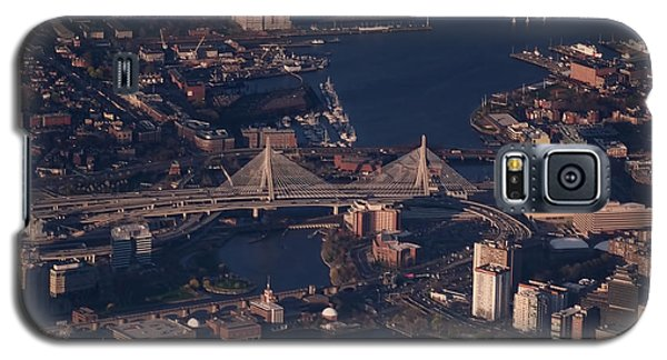 Galaxy S5 Case featuring the photograph Zakim Bridge In Context by Rona Black