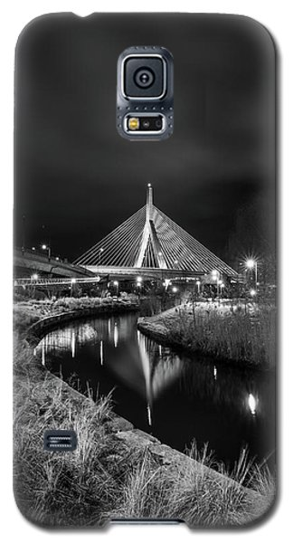 Zakim Bridge Reflecting Under A Moody Sky Galaxy S5 Case