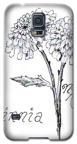 Zannie Zinnia Galaxy S5 Case