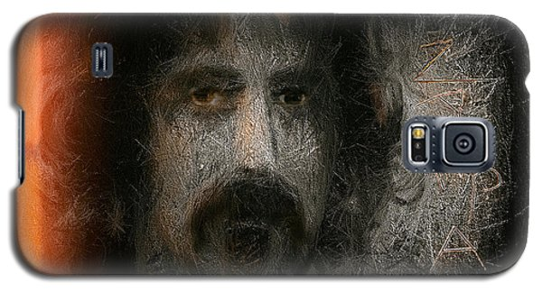 Galaxy S5 Case featuring the painting Zappa-the Deathless Horsie by Michael Cleere