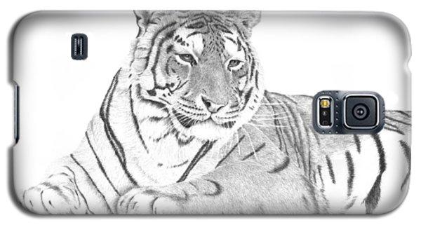 Zarina A Siberian Tiger Galaxy S5 Case by Patricia Hiltz