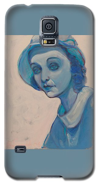 Zasu In Blue Galaxy S5 Case