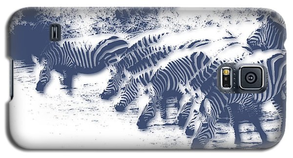 Zebra 3 Galaxy S5 Case by Joe Hamilton