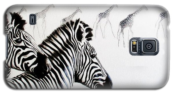 Zebra And Giraffe Galaxy S5 Case