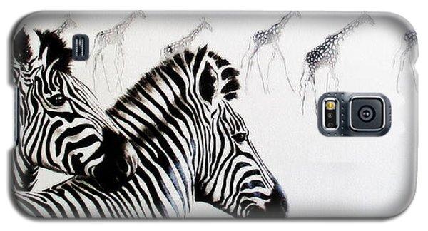 Zebra And Giraffe Galaxy S5 Case