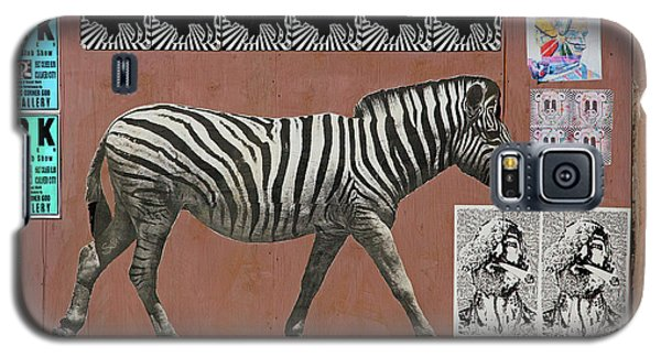 Galaxy S5 Case featuring the photograph Zebra Collage by Art Block Collections