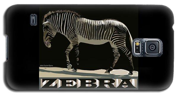 Zebra Design By John Foster Dyess Galaxy S5 Case