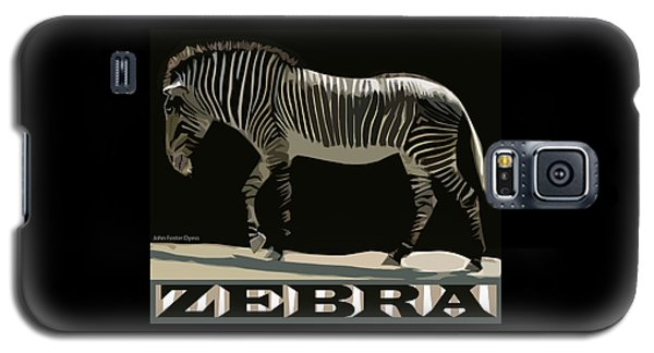 Zebra Design By John Foster Dyess Galaxy S5 Case