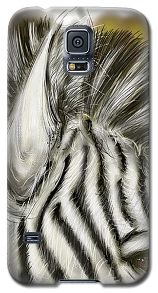 Zebra Digital Galaxy S5 Case by Darren Cannell
