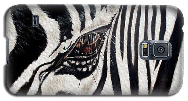 Wildlife Galaxy S5 Case - Zebra Eye by Ilse Kleyn
