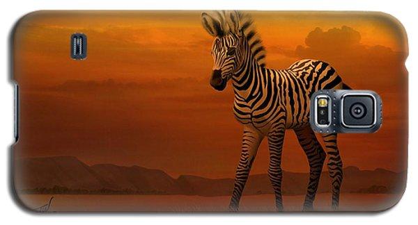 Zebra Fawn  Galaxy S5 Case