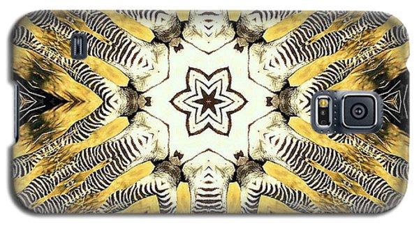 Zebra I Galaxy S5 Case by Maria Watt