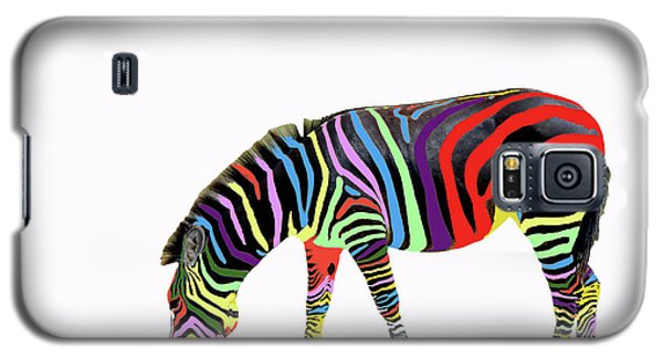 Galaxy S5 Case featuring the photograph Zebra In My Dreams by Bonnie Barry
