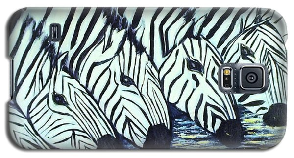 Zebra Line Galaxy S5 Case