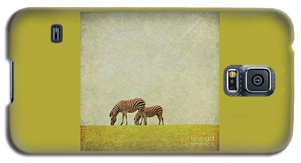 Zebra Galaxy S5 Case by Lyn Randle