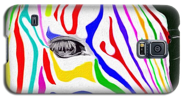 Zebra Nothing Is Black And White Galaxy S5 Case