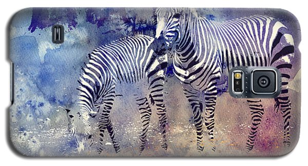 Zebra Paradise Galaxy S5 Case by Jutta Maria Pusl