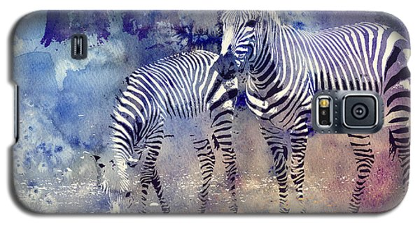 Zebra Paradise Galaxy S5 Case